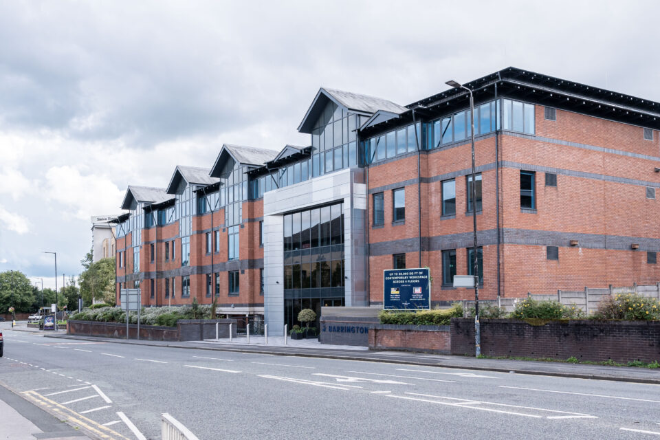 Altrincham office block brought back to the future