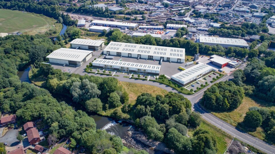 Completion of first phase at Chamberhall Business Park
