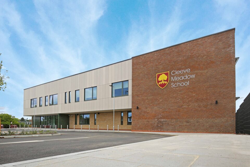 Innovative additional needs school, Cleeve Meadow, completes
