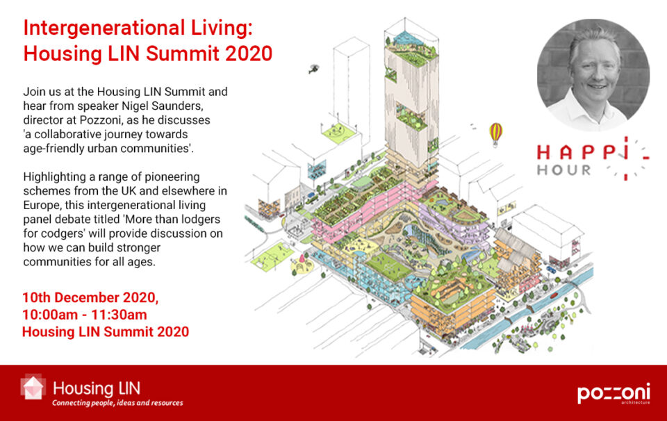 'Intergenerational Living: From concept to reality across a 12 month roadmap' presented by Nigel Saunders at the Housing LIN Summit 2020