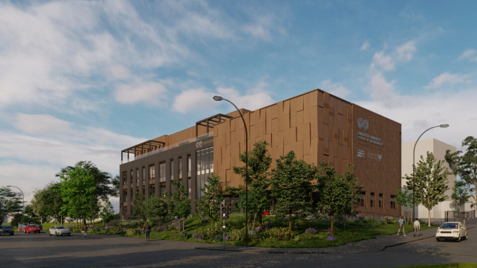 New images reveal how Lancaster University School of Mathematics will look