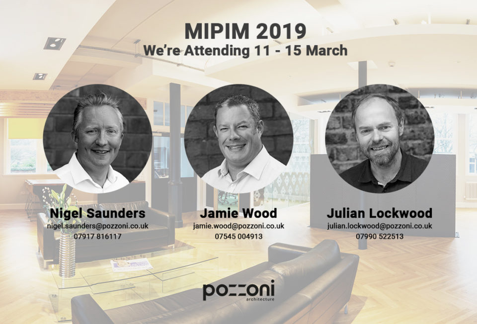 We're attending MIPIM 2019