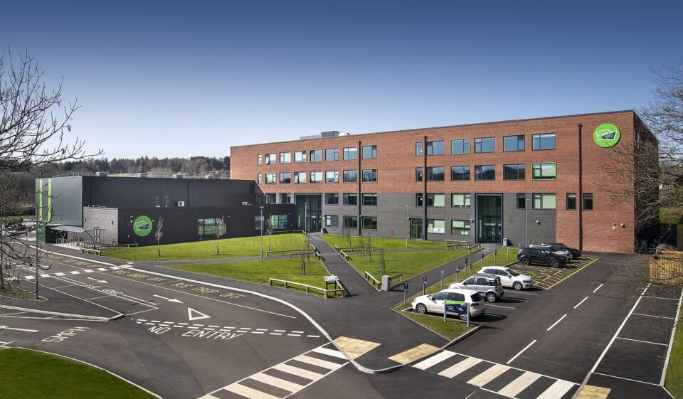 Pupils settle in at Oldham's newest secondary school