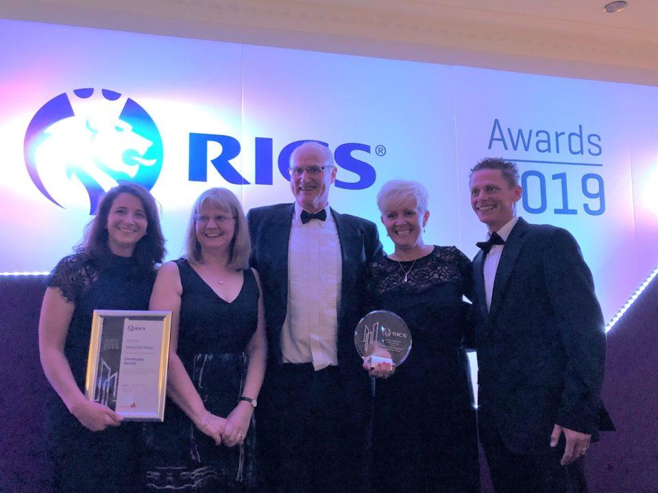 RICS Awards Success for Belong Newcastle-under-Lyme