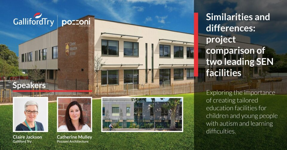 Festival of Learning Spaces: 'Similarities and Differences: project comparison of two leading SEN facilities' by Catherine Mulley