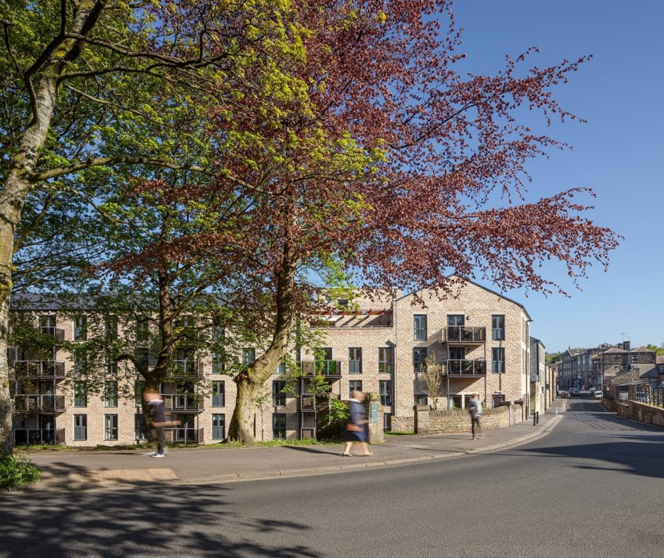 New retirement apartments in Glossop complete